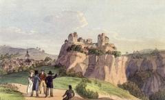 Adrian_Ludwig_Richter_Stadt_und_Schloss_Hohnstein