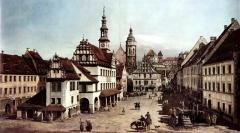 Canaletto-Pirna-Marktplatz