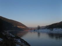 Elbe_am_Winterabend_bei_Thuermsdorf_klein