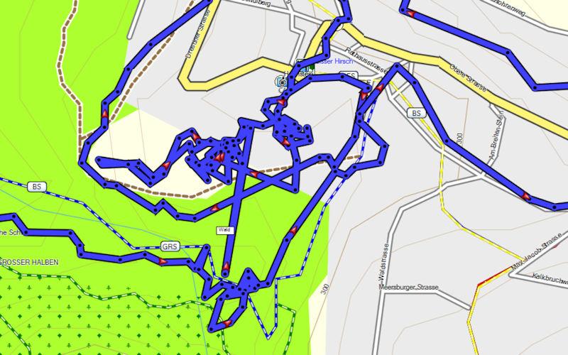 Strickmuster_GPS-Geraet